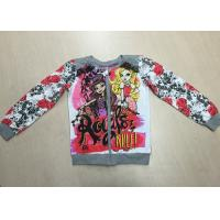 Buy cheap Fashion Floral Printed Custom Children Clothes Cute Jackets For Girls / Kids from wholesalers