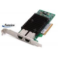 Femrice 100/1000/10000Mbps Dual Port Gigabit Ethernet PCIe x8 Server Adapter Intel X540 RJ45 Slots Network Controller