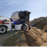 Buy cheap 130L Diesel Fuel 116HP 85kw 3.5m³  Concrete Mixer Truck from wholesalers