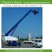Buy cheap Telescopic Boom aerial work platform lift / up lift from wholesalers