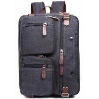 Buy cheap Iron Grey Polyester Laptop Bag With Pockets Drop Resistance Large Capacity from wholesalers