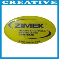 Buy cheap 3D Silver Chrome Epoxy Resin Sticker product