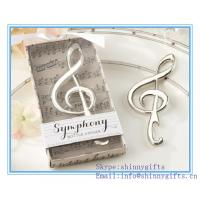 Buy cheap Musical note bottle opener favors from wholesalers