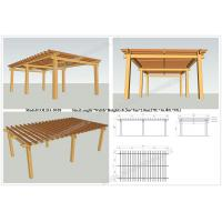 Buy cheap plastic wood pergola for sale 27ft.*16.4ft.*9ft.(OLDA-5018) outdoor decoration from wholesalers