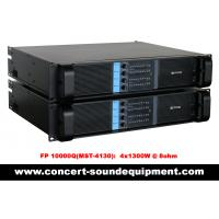 Buy cheap 4 Channel Switch Mode Amplifier 4 x 1300W FP 10000Q For Line Array Speakers In Concert product