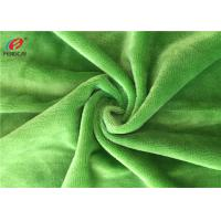 Buy cheap 190GSM 3MM Pile Soft Fleece Fabric , Polyester Knitted Blanket Fabirc from wholesalers