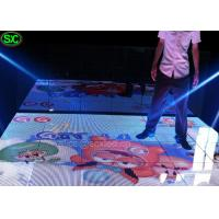 Buy cheap Indoor LED Dance Floor Display , Wedding Wifi Control Floor Screen from wholesalers