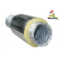 Buy cheap Round Acoustic Insulated Flexible Ducting , Silver Heat Resistant Flexible Hose product