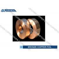 ISO Standard Phosphor Bronze Alloy Copper Foil Rool , brass foil roll