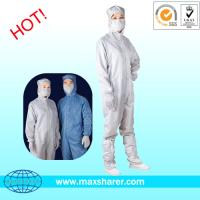 Buy cheap Standard Antistatic Cleanroom Coverall C0101 from wholesalers