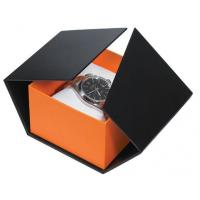 Buy cheap Modern Style Watch Packaging Box Cardboard Watch Box With Pillow Imprint Logo product