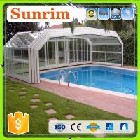 Buy cheap Family&Business Use Automatic Telescopic Swimming Pool Enclosures/Pool Cover from wholesalers