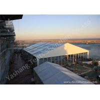 Buy cheap 100Km / h Events Aluminium Frame Tents Customized Gable and Side Wall Material from wholesalers
