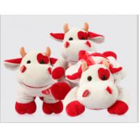 Buy cheap Cute Redbull Milka-Cow Stuffed Plush Toy For Promotion Gifts , Soft Toys for Collection from wholesalers