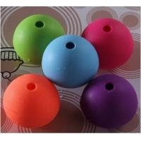 Buy cheap silicone ice sphere for cocktails wine ,cute shape silicone ice pop maker from wholesalers
