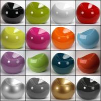 Buy cheap Apple Ball Fiberglass Arm Chair Glossy Designed By Eero Aarnio Short Round Stool product