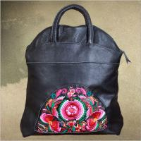 Buy cheap OEM Cow leather bags women handbags 100% Genuine leather handbags from china top factory from wholesalers