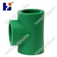 Buy cheap Plastic pipe fittings PPR equal tee from wholesalers