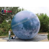 Buy cheap Attractive Giant inflatable balloon lighting,Inflatable LED moon balloon Blow Up ball with Strong Material from wholesalers