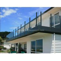 Buy cheap Indoor Decorative Structural Garden Balustrades Glass Handrails For Balcony from Wholesalers