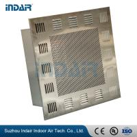 Buy cheap Tight Seal HEPA Filter Terminal Box Removable Perimeter Trim / Protective Grill from wholesalers