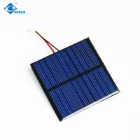 Buy cheap 5V 10 Battery PET High quality pv solar module For MP3 ZW-6565P mini solar from wholesalers