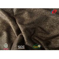 Buy cheap 100% Polyester Fake Leather Sofa Fabric , Stretch Faux Suede Fabric 180CM from wholesalers