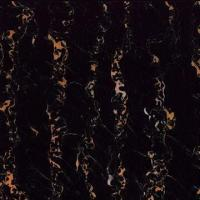 Buy cheap Italy Black Gold Flake/Portoro Marble Compound Floor Tile from wholesalers