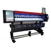 Buy cheap 1.6m Large Format Eco Solvent Printing Machine with DX5 Print Head High Precision from wholesalers