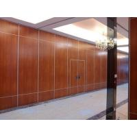 Buy cheap Office Sound Proof Partition Wall , Melamine Surface Sliding Folding Acoustic Room Dividers from wholesalers