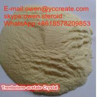 Buy cheap Light Yellow Crystalline Trenbolone Acetate Muscle Building Supplements For Men from wholesalers