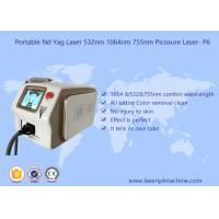 Buy cheap Customized 1064 Yag Laser Hair Removal , Nd Yag Laser Machine No Injury To Skin from wholesalers