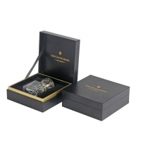 Buy cheap Custom Luxury Paper Gift Boxes For Perfume With Gold Stamping Logo from wholesalers