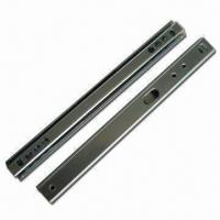Buy cheap Mini Ball Bearing Drawer Slide with 27mm Groove from wholesalers