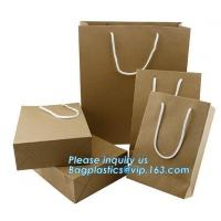Buy cheap paper carrier bag luxury printed paper gift bag raw materials of brown paper bag wholesale,luxury shopping black packagi from wholesalers