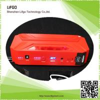 Buy cheap 12V16500mAh portable rechargable li-po battery pack car emergency jump starter power from wholesalers