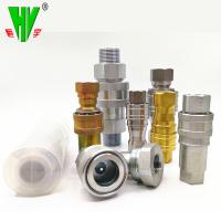 Buy cheap Hydraulic union fitting quick release coupling high pressure quick couplers from wholesalers