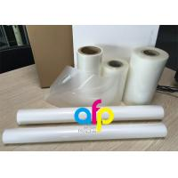 Buy cheap PET Polyester Roll Laminating Film SGS Approval Double Side Corona Treatment from wholesalers