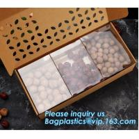Buy cheap paper nut packaging box,Corrugated Bolt And Nut Packaging Box,Kraft Paper gift box with clear pvc window stand up for ca from wholesalers