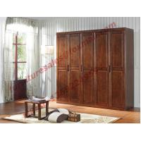 Buy cheap Open Doors Wardrobe in Solid Wood Bedroom Furniture Sets product