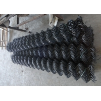 Buy cheap 2   X 2  Square Woven Vinyl Coated Chain Link Fence from wholesalers