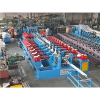 Buy cheap Cr12 C Purlin Roll Forming Machine , Corrugated Iron Sheet Making Machine 550mm Coil Width product