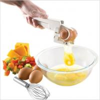 Buy cheap Separate Egg Whites EZ Cracker Egg Cracker with Separator Hot sale cooking tool cracker commercial egg white and yolk se from wholesalers