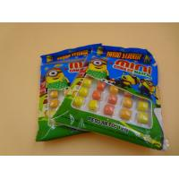 Buy cheap Mini Round Colorful Mixed Chewing Gum Candy For Kids 12g Bag Packed from wholesalers
