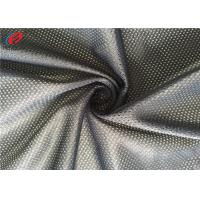 Buy cheap 75D / 72F DTY Football Jersey Mesh Fabric , Athletic Mesh Material  For Clothing from wholesalers