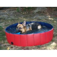 Buy cheap Pvc Portable Pet Bath Tub Inflatable , Dog Bathing Tub from wholesalers