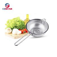 Buy cheap Kitchen Strainer Colander Basket - Fine Mesh Net Quality Stainless Steel Kitchen Sieve Strainer, Draining, Salad and Noo from wholesalers
