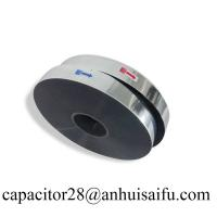 Buy cheap Aluminum-Zinc metalized polyester film with heavy edge for capacitor from wholesalers