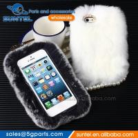 Buy cheap Warm Rabbit Fur Luxury Hard Case for Samsung for iPhone Phone Case from wholesalers