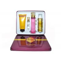 Buy cheap Red Beauty Womens Fragrance Sets , Gift Set Perfume Set For Couple from wholesalers